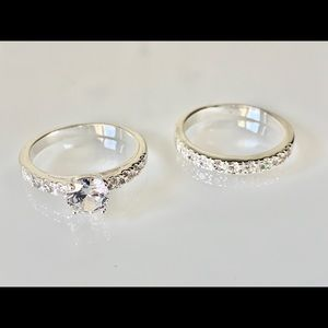 Ring Set, Cubic Zirconia (3 ct. t.w.) Size 10